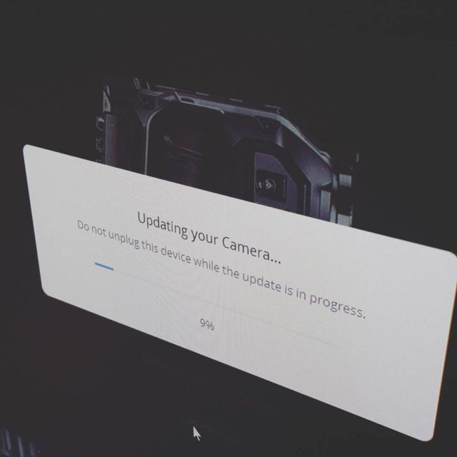 Please wait blackmagic ursamini camera videoproduction video update
