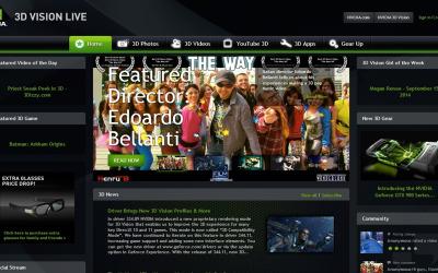 Intervista e pubblicazione su NVidia 3D Vision Live
