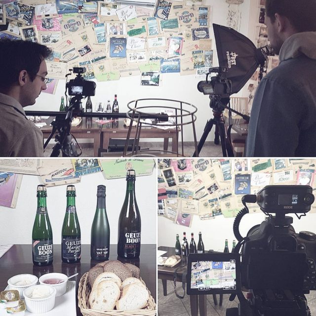 Shooting for Quality Beer Academy today! New episodes very soon!hellip
