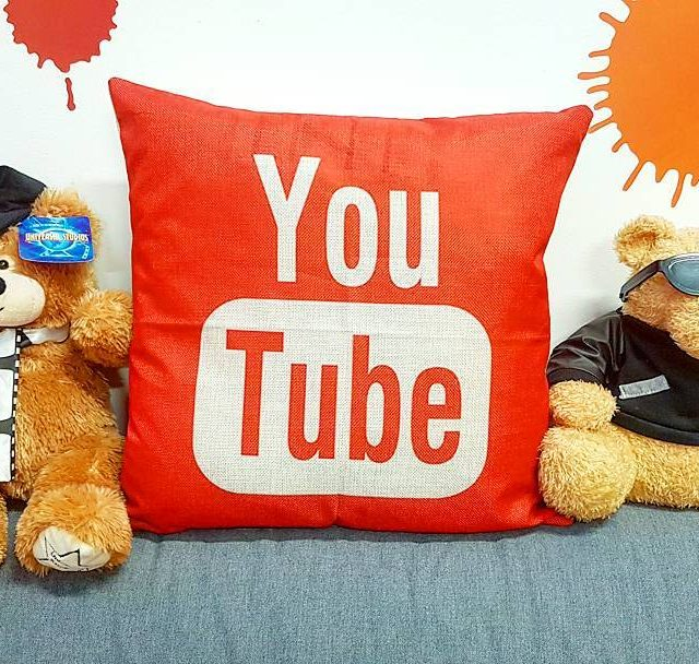 New pillow for the studio! videoproduction filmmaking youtube pillow videomakerhellip