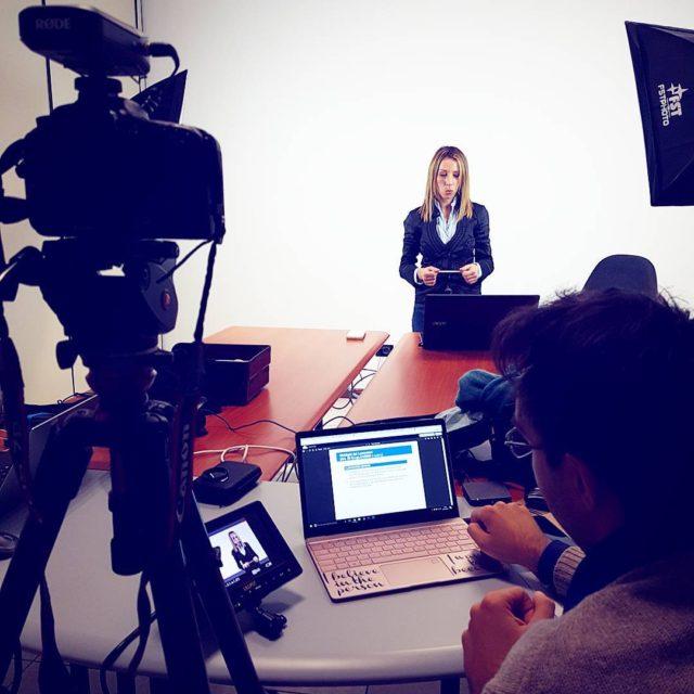 Registrazioni oggi per scuolainnovativa a Reggio nellEmilia! shooting shootingday ripresehellip